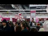 Открытие второго магазина Медиа Маркт в МЕГЕ Нижний Новгород ночью с 11 на 12 декабря 2013г.